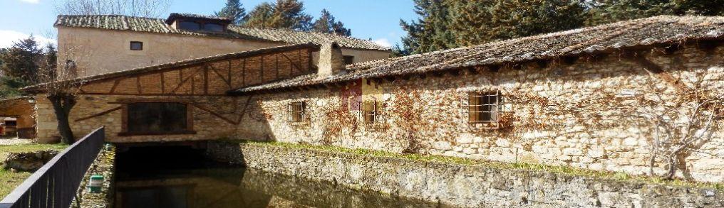 Comprar fincas rusticasMOLINO EXCLUSIVO CON FINCA - Segovia