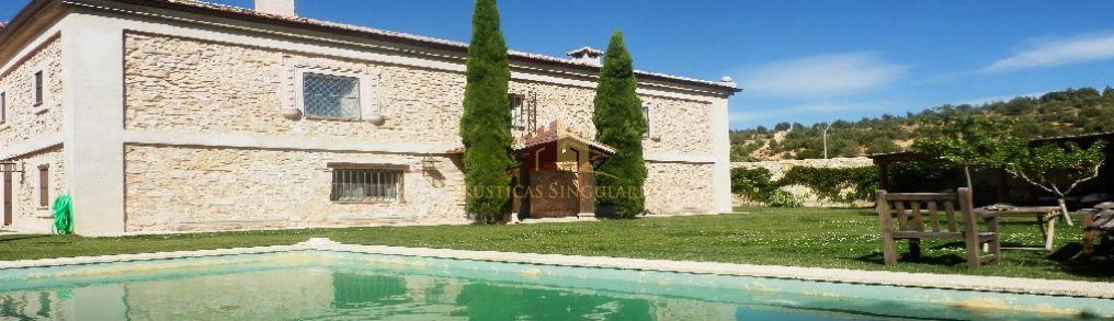 Comprar fincas rusticasGRAN CASA SE�ORIAL CON JARD�N - Segovia